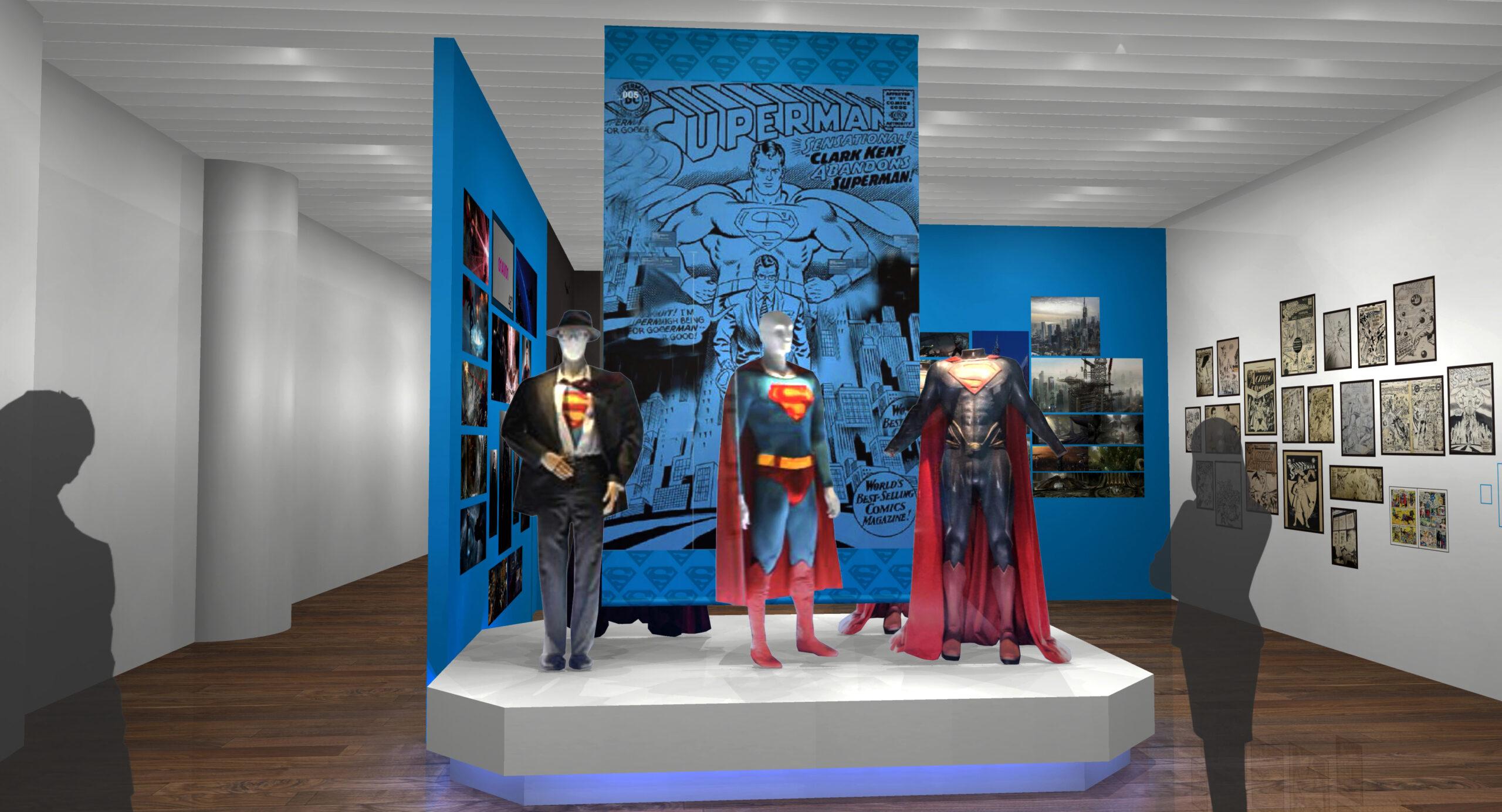 スーパーマンエリア・エリア | DC展 スーパーヒーローの誕生